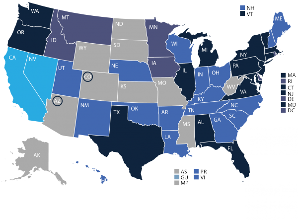 IECC Building Code Adoption by State