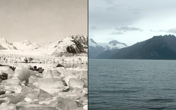 Northwestern Glacier melt, Alaska, 1940-2005